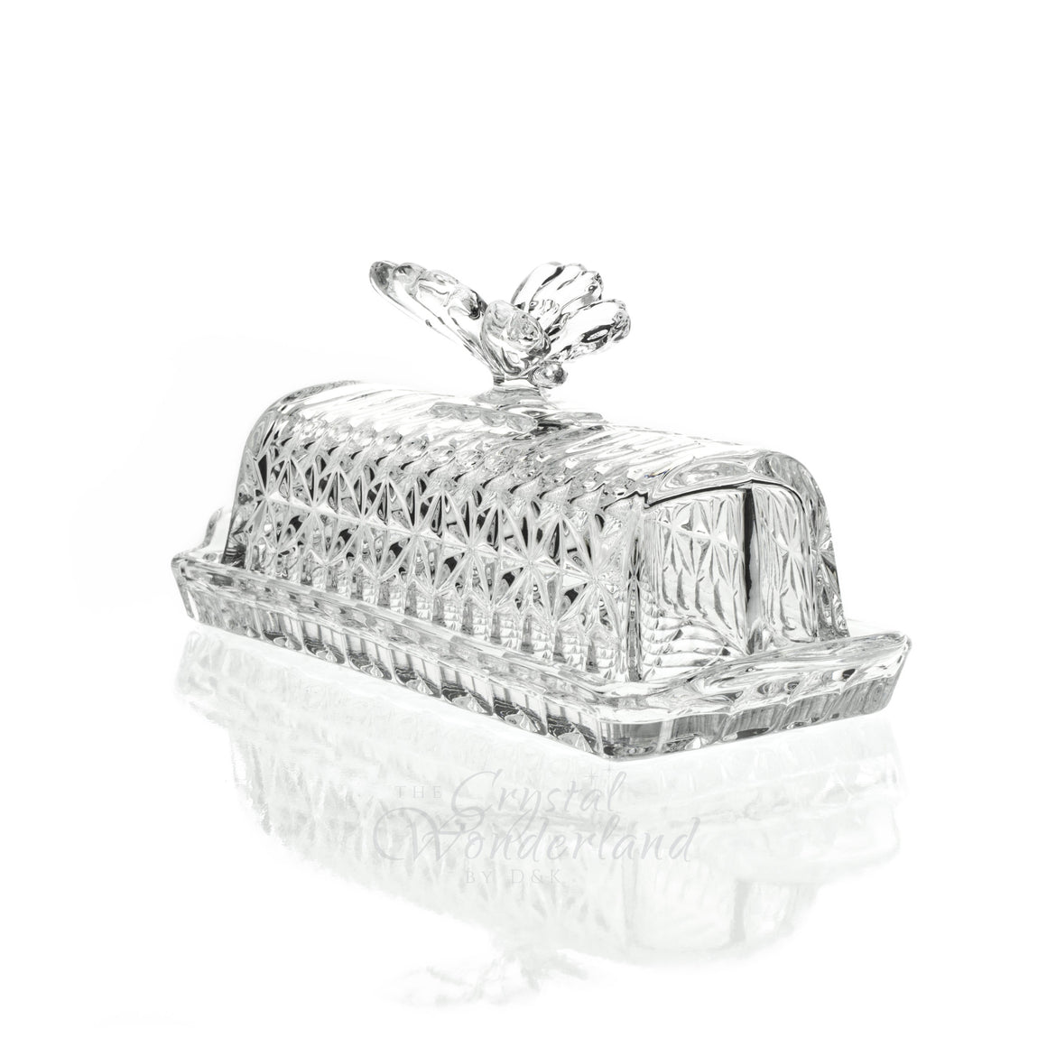 Crystal Butter Tray - The Crystal Wonderland