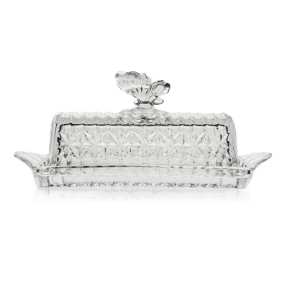 Butterfly Crystal Butter Tray - The Crystal Wonderland - 2
