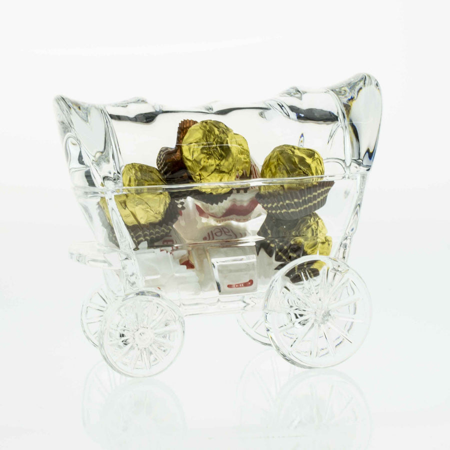 Candy Boxes - Cinderella Chariot Crystal Small Box Figurine