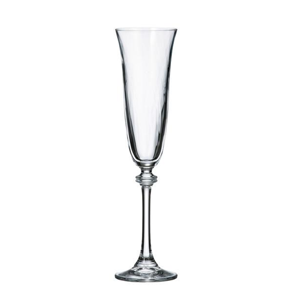 Champagne Glasses - Bohemian Glass Champagne Glasses, Set Of 6