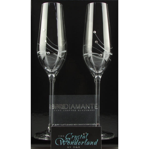 champagne glass flutes