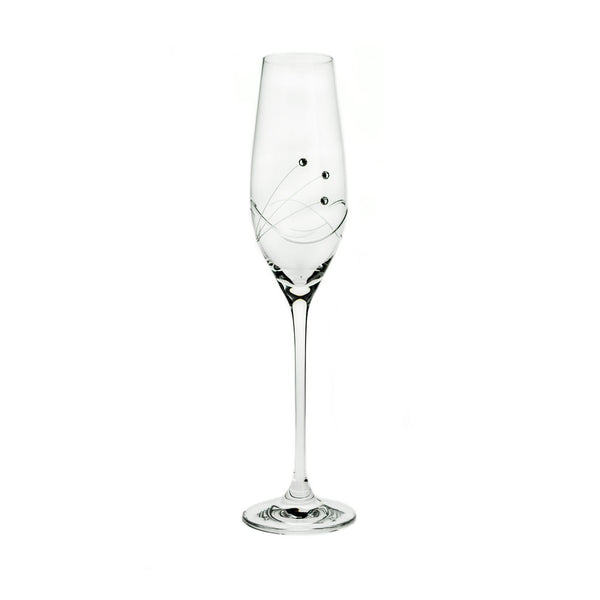 Champagne Glasses - Kate Swarovski Crystals Champagne Glasses, Pair