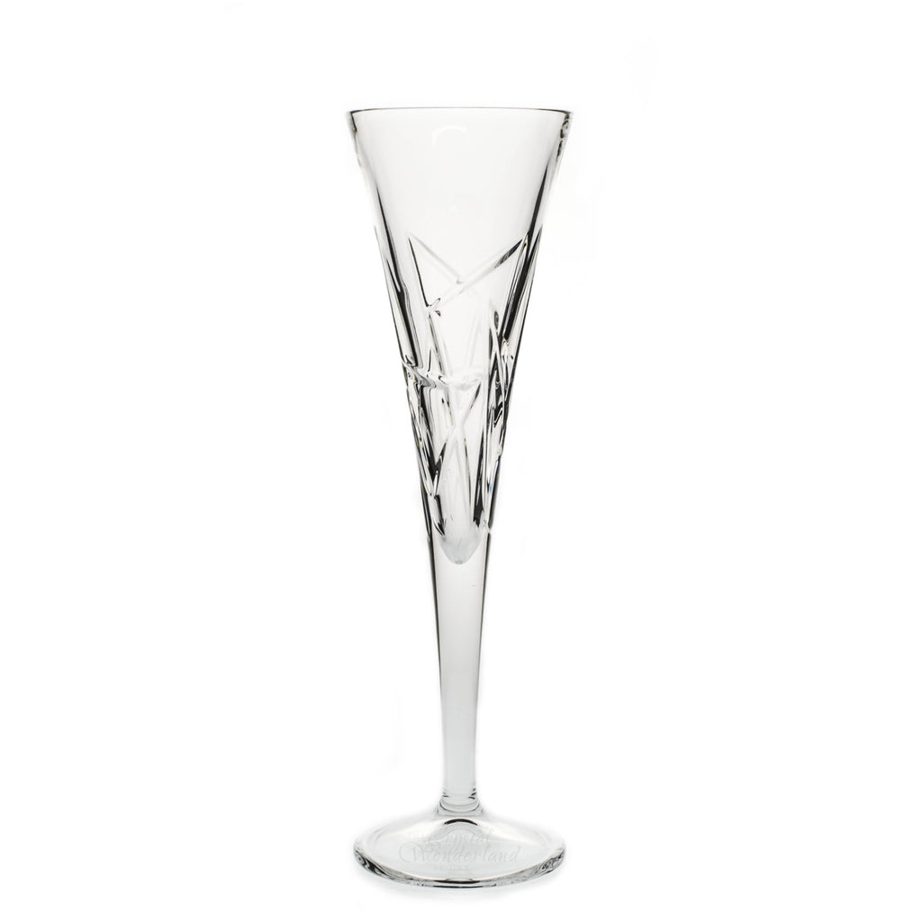 Triangles Crystal Champagne Flutes, Pair - The Crystal Wonderland - 2