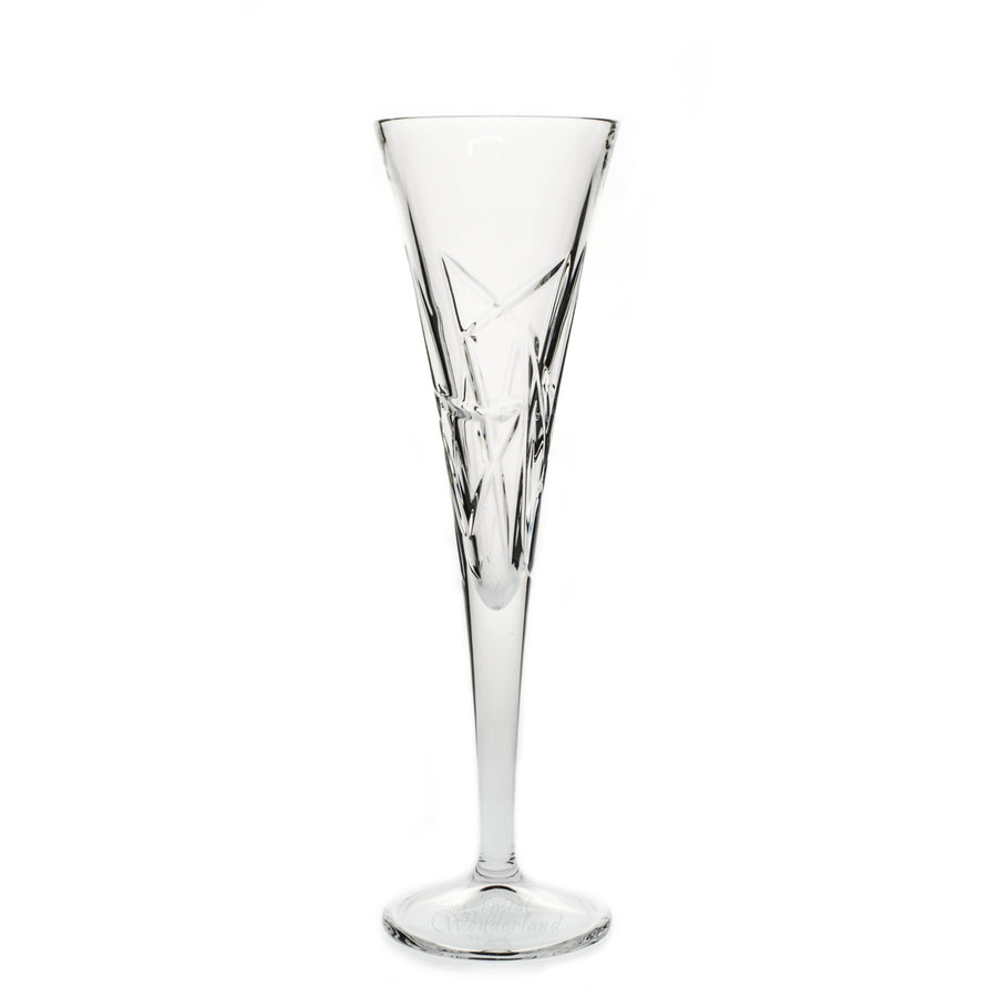 Triangles Crystal Champagne Flutes, Pair - The Crystal Wonderland - 1