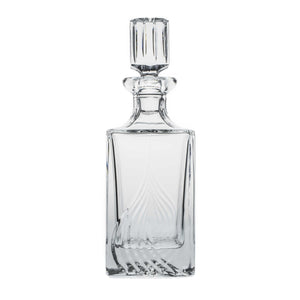 Crystal Square Decanter, 25.3oz - The Crystal Wonderland