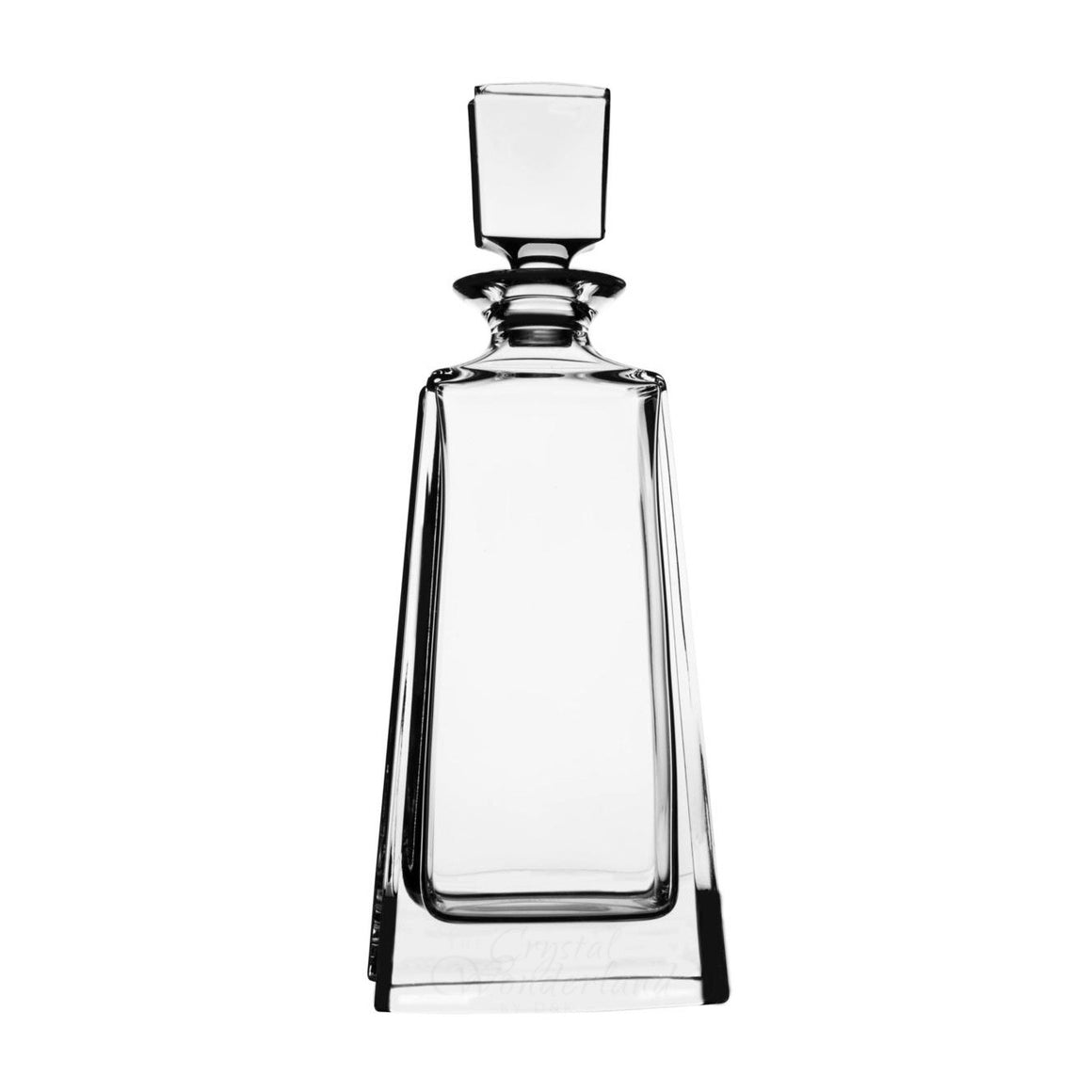 Lucie Crystal Clear Decanter, 23.7 oz - The Crystal Wonderland