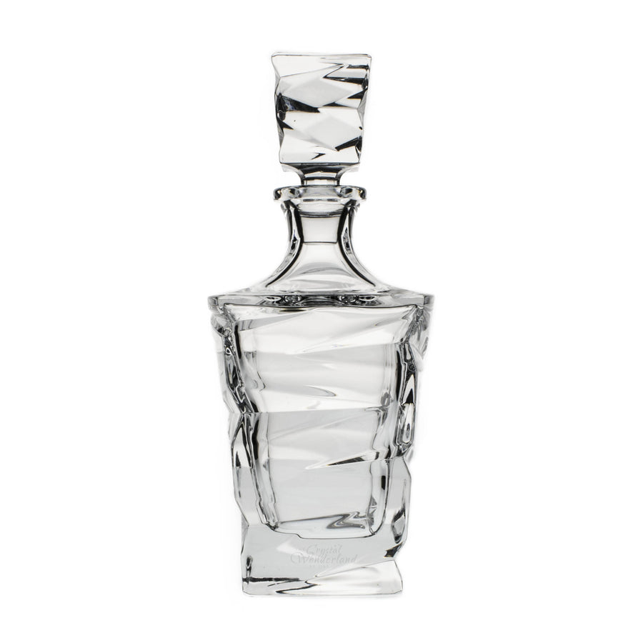 New Age Crystal Decanter, 25.3 oz - The Crystal Wonderland
