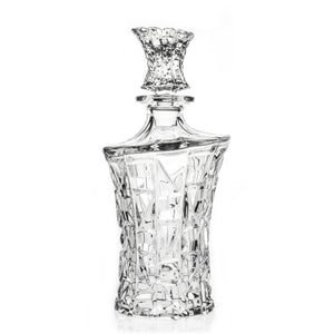 Mosaic Crystal Cut Liquor Decanter, 23.7 oz - The Crystal Wonderland - 1