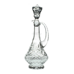 Starlet Crystal Decanter with Handle - The Crystal Wonderland
