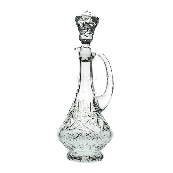 starlet crystal decanter with handle the crystal wonderland