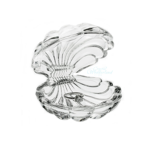 Ariel Crystal Clam Shell Figurine - The Crystal Wonderland - 1