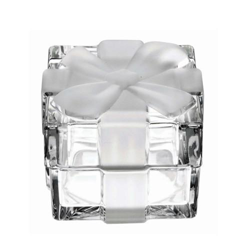 Figurines - Big Crystal Ribbon Gift Box