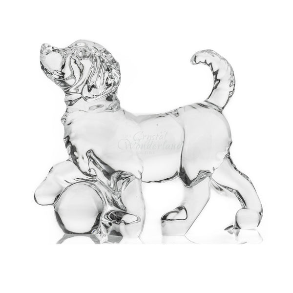 Dog Crystal Figurines - The Crystal Wonderland