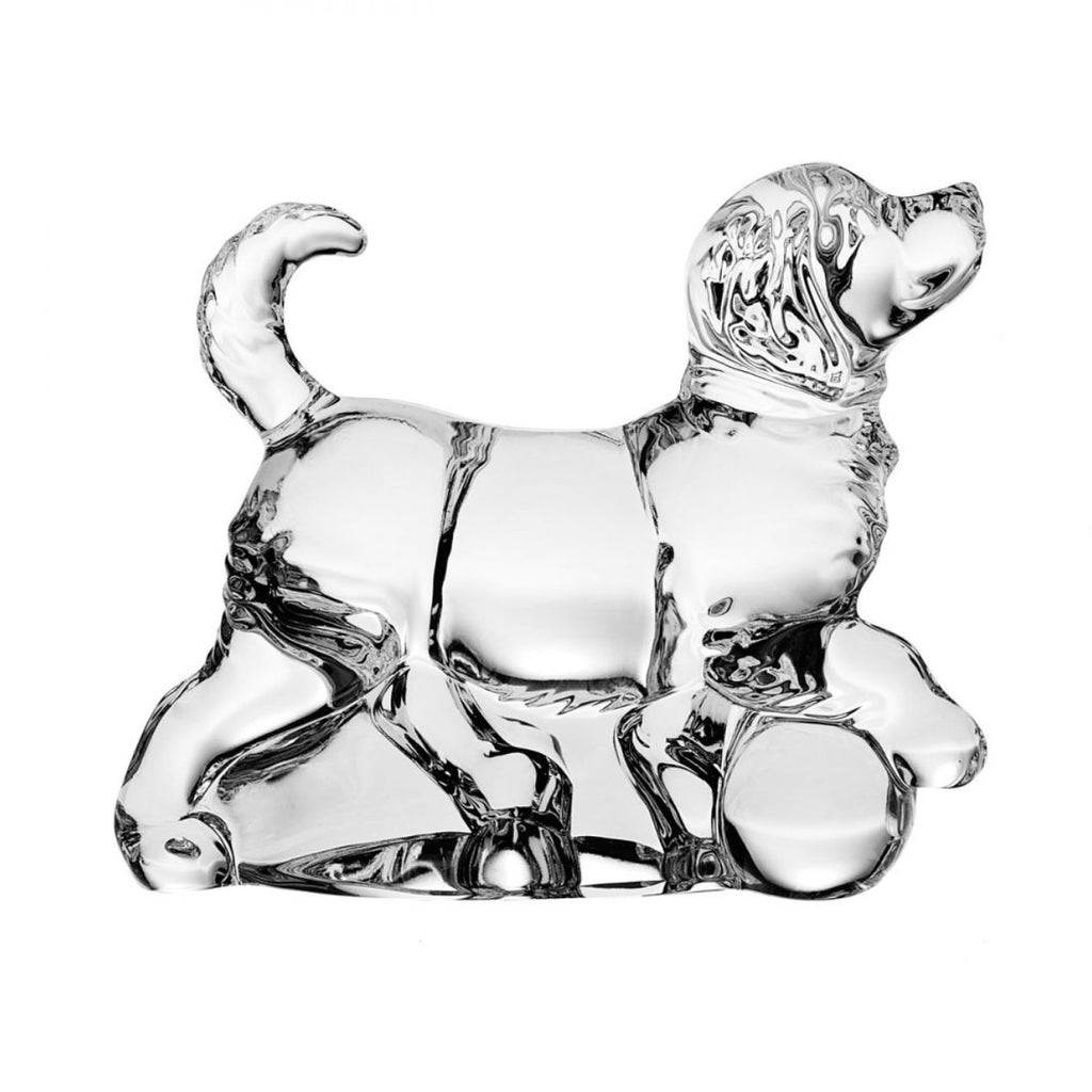 Figurines - Dog Crystal Figurine