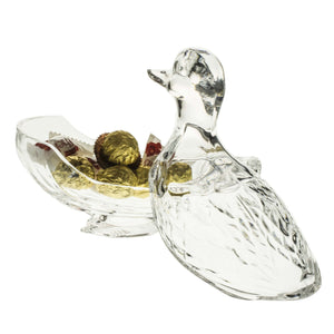 Figurines - Duck Crystal Candy Box