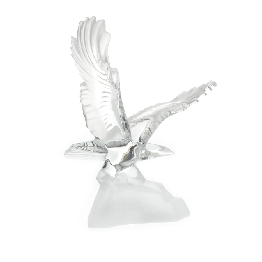 Flying Eagle Crystal Figurine - The Crystal Wonderland 2
