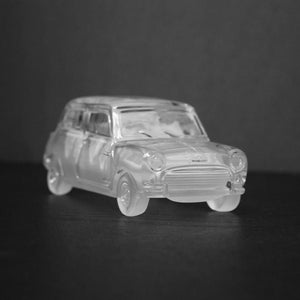Figurines - Mini Cooper Crystal Collectible Car Model 2175 GT