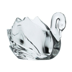 Figurines - Small Crystal Swan Figurine