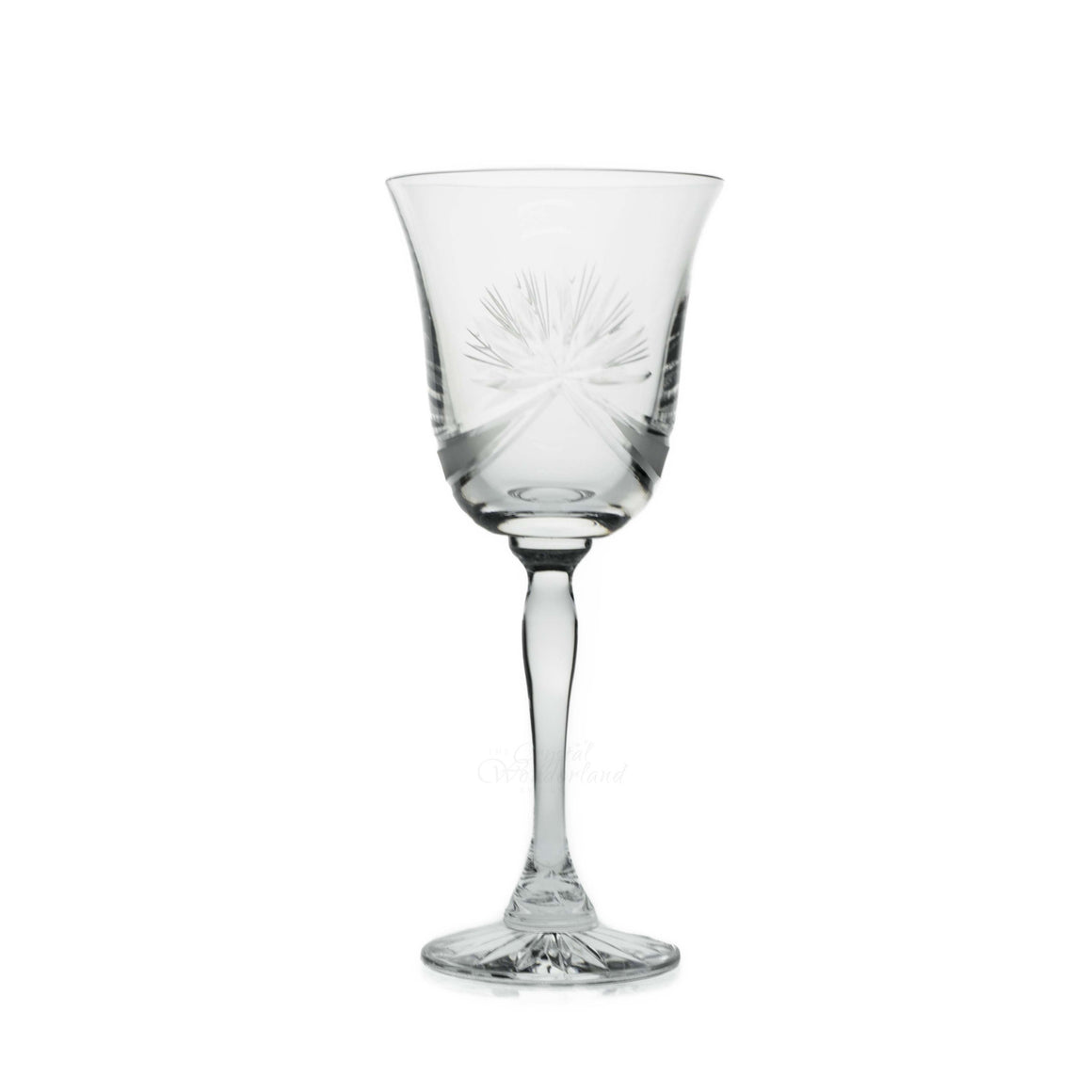 Olymp Crystal Goblets, Set of 6 - The Crystal Wonderland