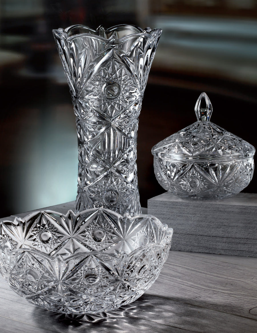 Marina Glass Vase - The Crystal Wonderland