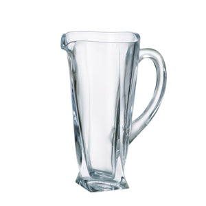 Calypso Clear Glass Pitcher, 37.2oz - The Crystal Wonderland