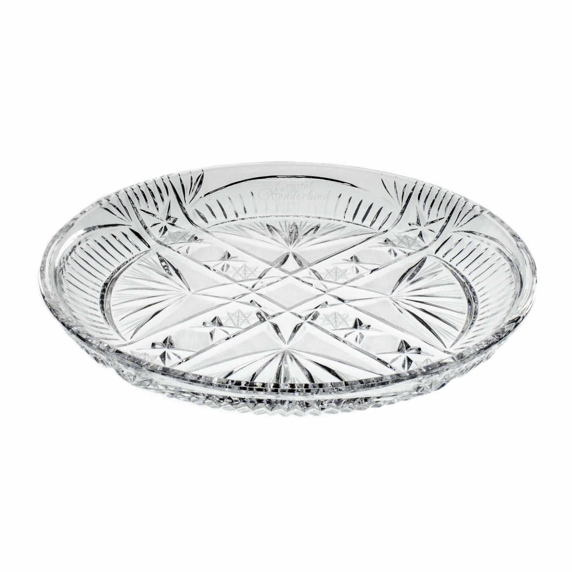 Crystal Serving Plate - The Crystal Wonderland - 1
