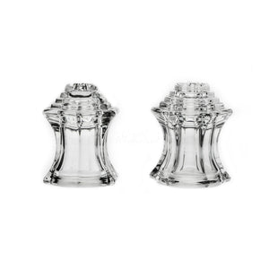 Crystal Piramide Salt and Pepper Shakers Set - The Crystal Wonderland