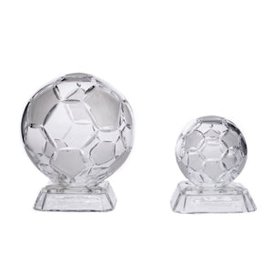 Small Crystal Soccer Ball On a Stand - The Crystal Wonderland - 2