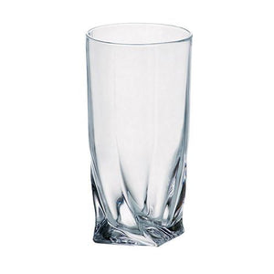 Stemless Glasses - Calypso Glass Pitcher & 6 Water Glasses