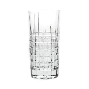 Stemless Glasses - Glacier Crystal Beverage Glasses, Set Of 6
