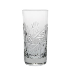 Stemless Glasses - Starlet Crystal Beverage Glasses, Set Of 6