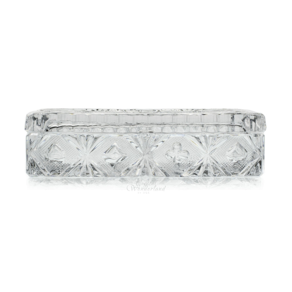 crystal card holder