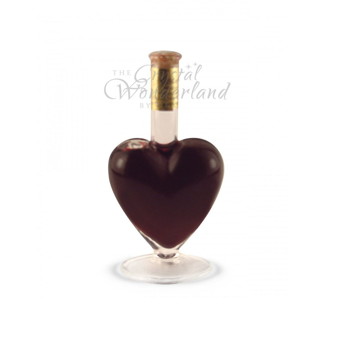 Glass Handcrafted Heart 3.4oz - The Crystal Wonderland