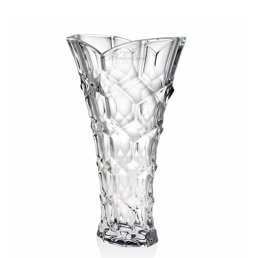 "Bee Bright Tall Glass Vase 14"" - The Crystal Wonderland - 1"