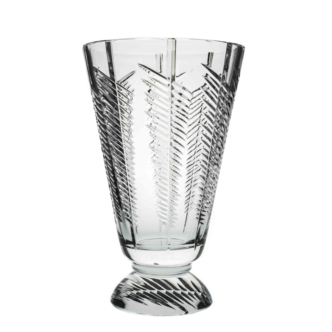 Crystal Floor Vase
