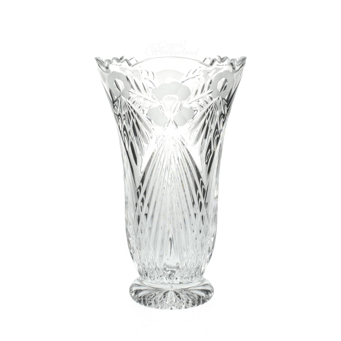 Florence Crystal Vase - The Crystal Wonderland
