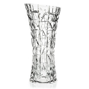 Mosaic Contemporary Crystal Vase - The Crystal Wonderland