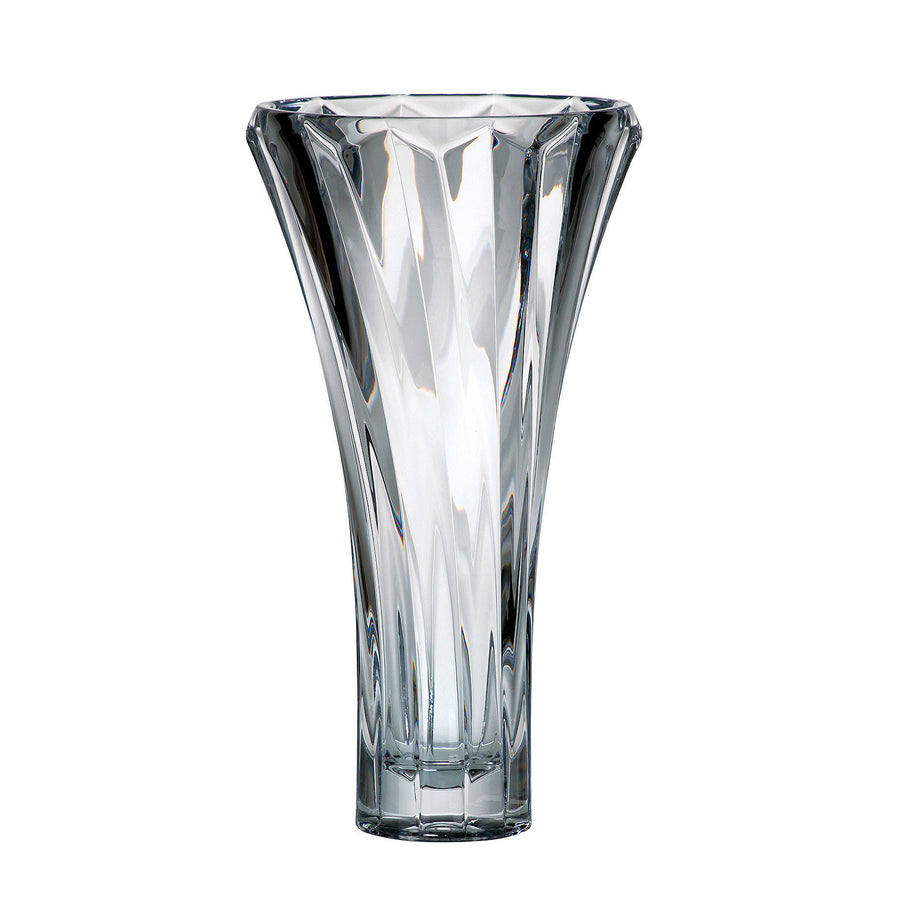 "Serena Tall Glass Vase, 14"" - The Crystal Wonderland"
