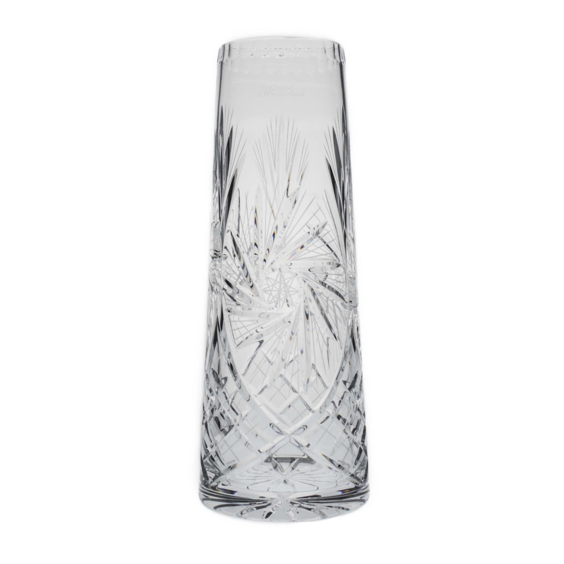 Starlet Floor Crystal Vase - The Crystal Wonderland