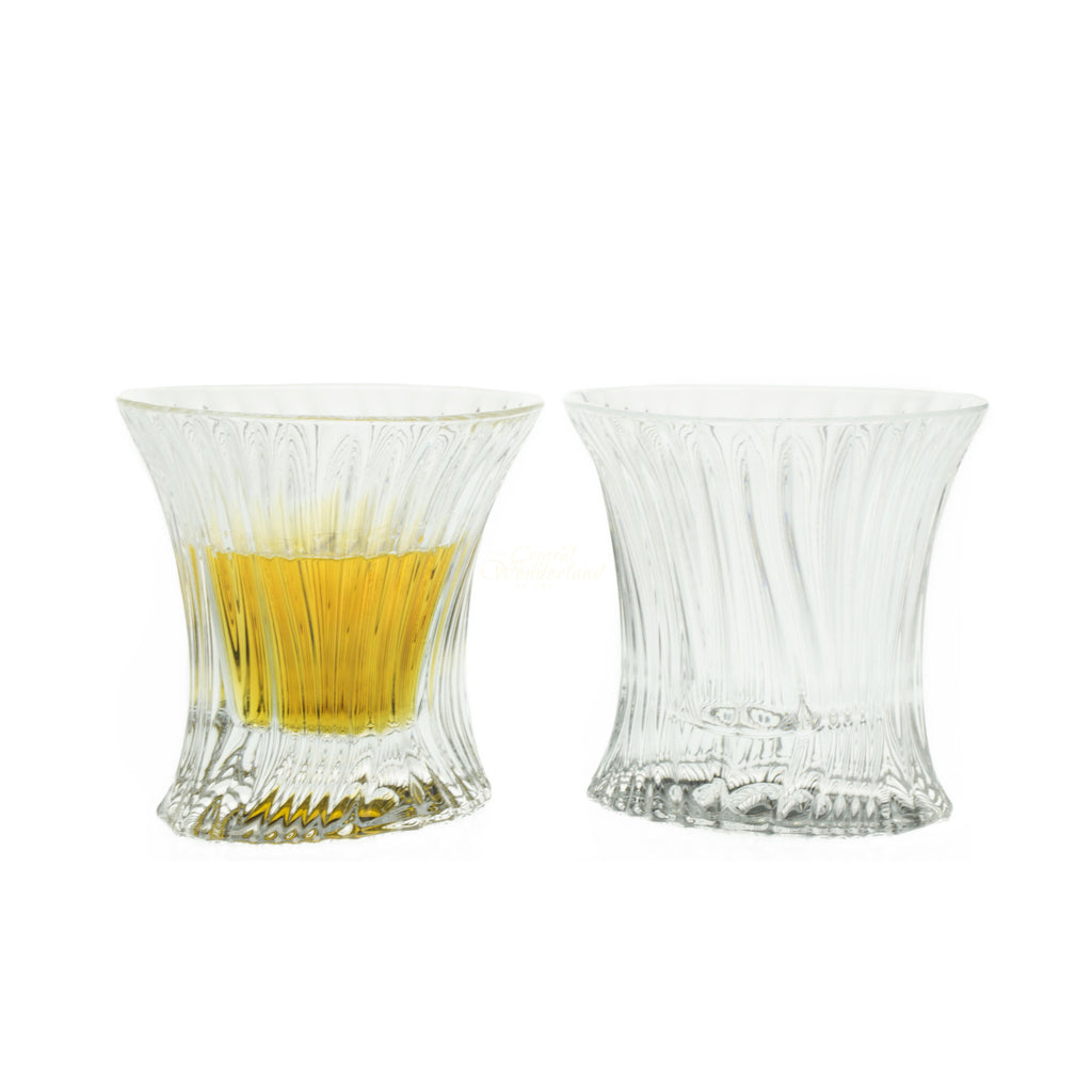 Crystal Whiskey Tumblers, Set of 6 - The Crystal Wonderland 2