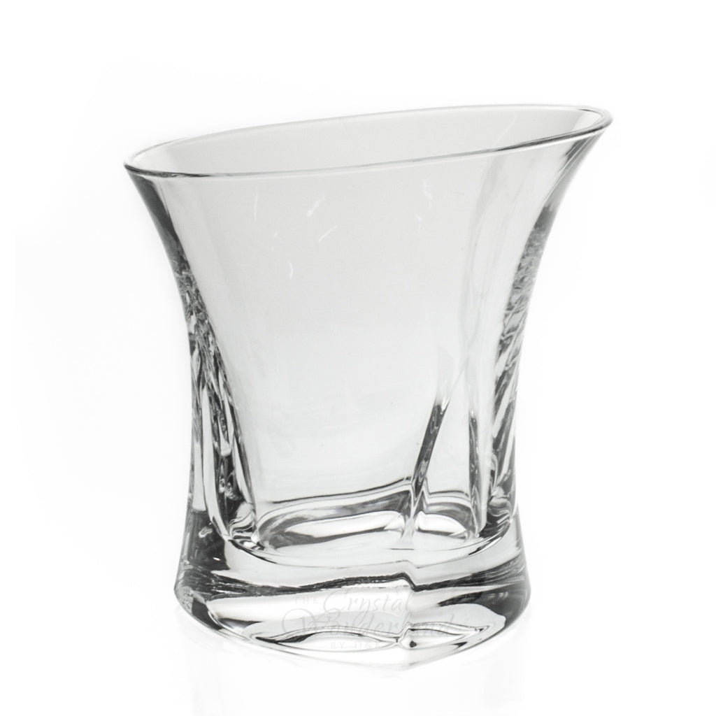 Contemporary Crystal Whiskey Glasses, Set of 6 - The Crystal Wonderland - 3