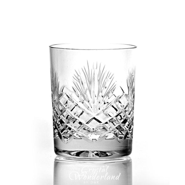 Whiskey Glasses - Dionysos Crystal Whiskey Glasses, Set Of 6