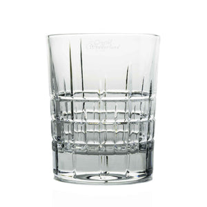 Whiskey Glasses - Glacier Crystal Whiskey Tumblers, Set Of 6