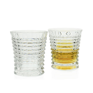 Hurricane Crystal Cut Whiskey Tumblers, Set of 6 - The Crystal Wonderland - 2