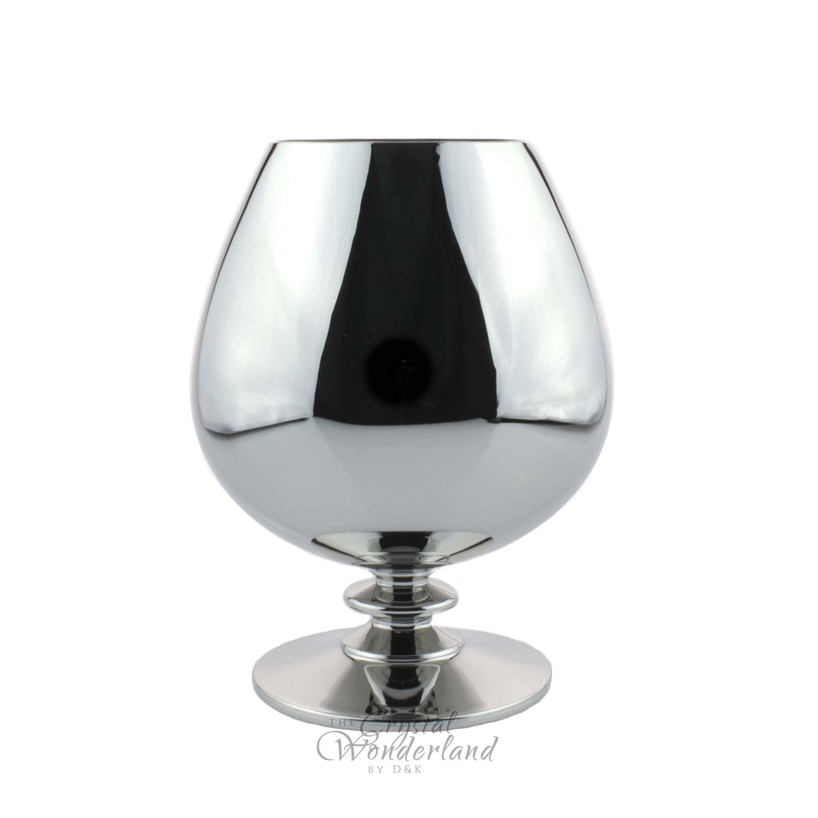 Whiskey Glasses - Platinum Look Brandy Snifter Glass