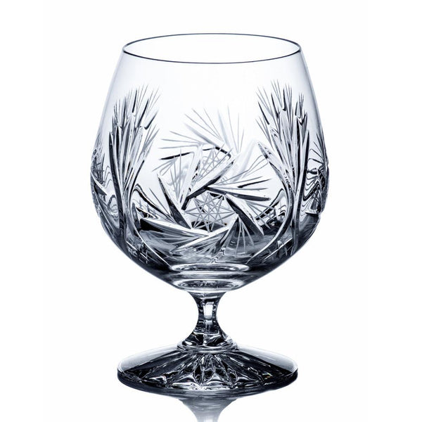 Whiskey Glasses - Starlet Crystal Brandy Glasses, Set Of 6