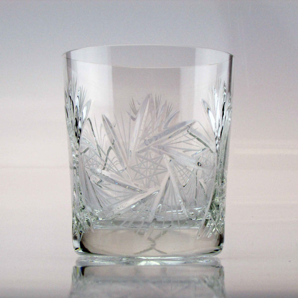 Starlet Crystal Whiskey Tumblers, Set of 6 - The Crystal Wonderland - 1