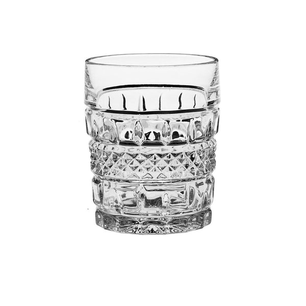 Whiskey Glasses - Vintage Crystal Whiskey Glasses, Set Of 6