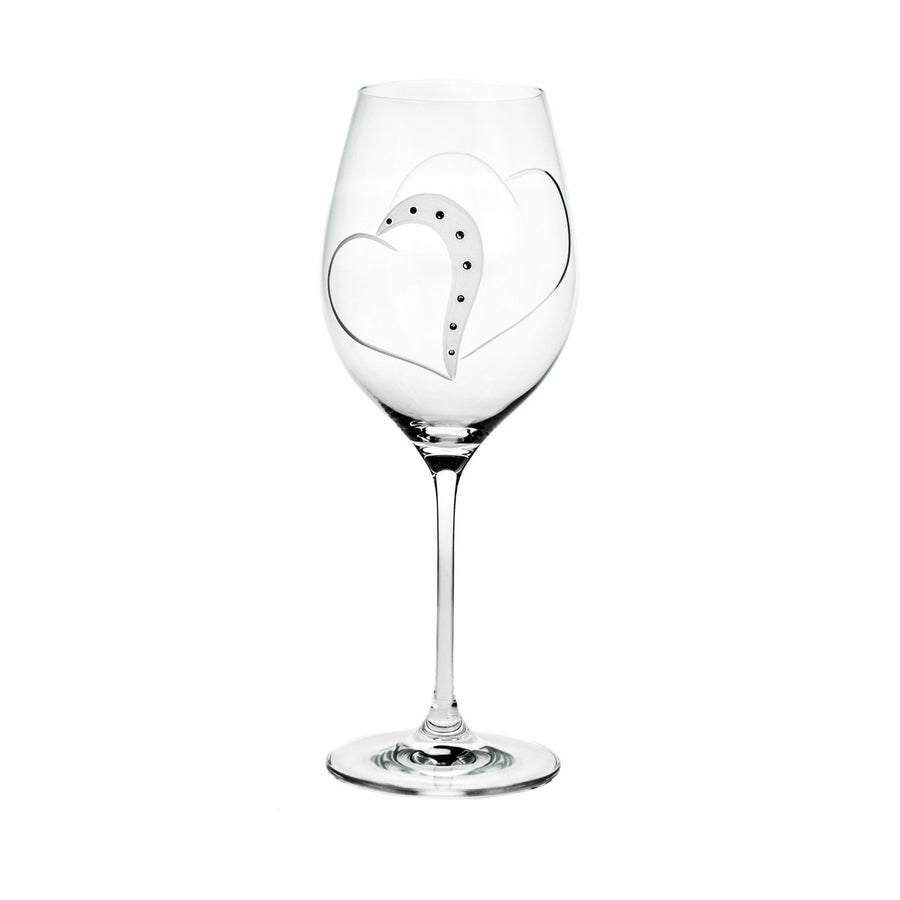 Wine Glasses - Adeline Swarovski Crystals Wine Glasses, Pair