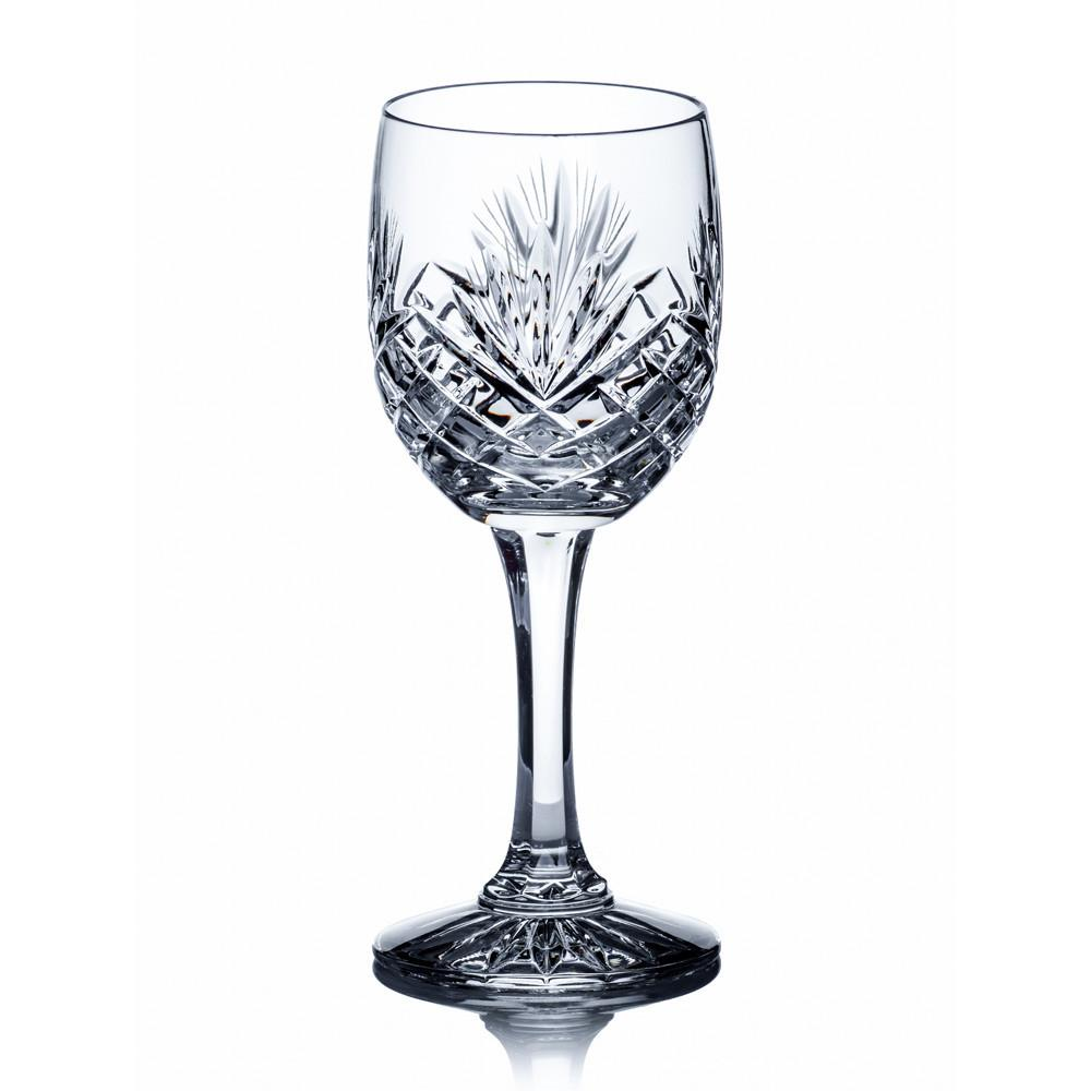 Wine Glasses - Dionysos Crystal Wine Goblets, Set Of 6